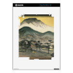 Evening view of a temple in the hills by Ando H. Decal For The iPad 2