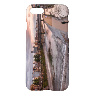 Evening walk along the Kamo River in Kyoto iPhone 7 Case