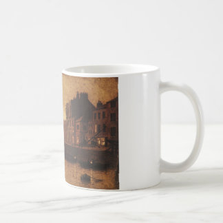 Evening, Whitby Harbour by John Atkinson Grimshaw Coffee Mug