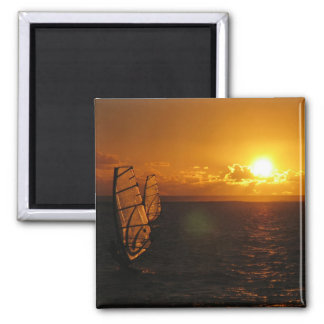 Evening Windsurfing 1 Magnet