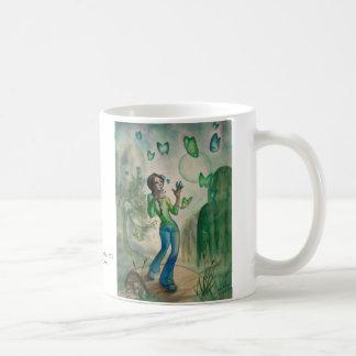 Evening With Butterflies Coffee Mug