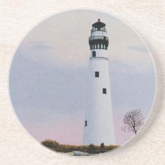Evening's Lighthouse Coaster