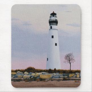 Evening's Lighthouse Mousepad