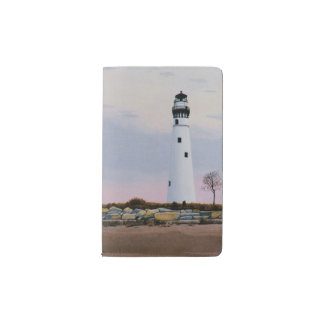 Evening's Lighthouse Pocket Moleskine Notebook