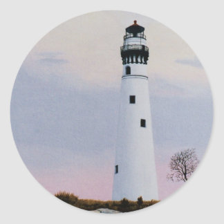 Evening's Lighthouse Sticker