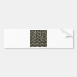 Evenlode design by William Morris Car Bumper Sticker