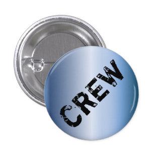 Event Crew Badge grunge metallic Button