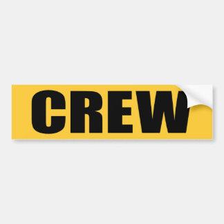 Event Crew Bumper Sticker