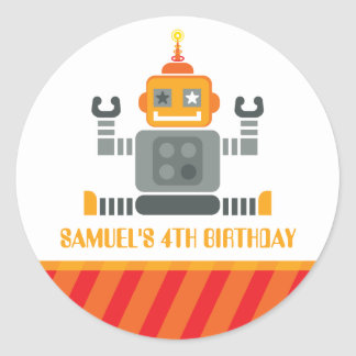 EVENT DECORATIVE STICKER :: robot 2
