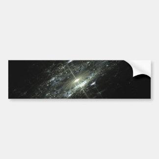 Event Horizon Abstract Fractal Design Bumper Sticker