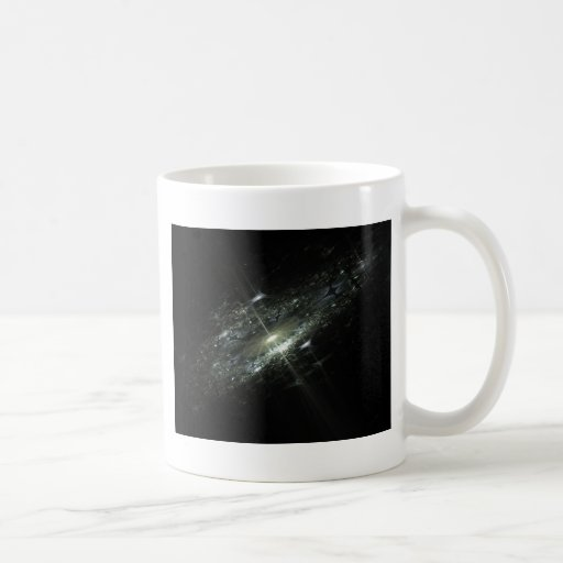 Event Horizon Abstract Fractal Design Coffee Mugs