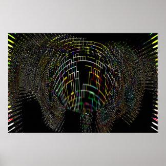 """Event Horizon"" Black Hole Astronomy Art Print"