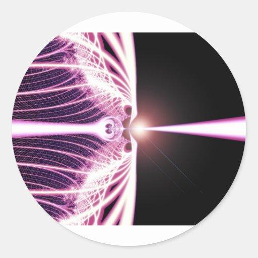 *Event Horizon* Fractal Art Design Stickers