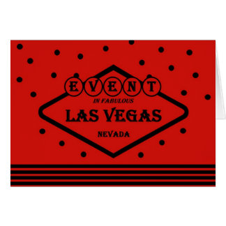 EVENT In Fabulous Las Vegas Red/Black Card