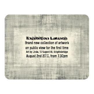 Event Invitation Exhibition Art Launch Promotion