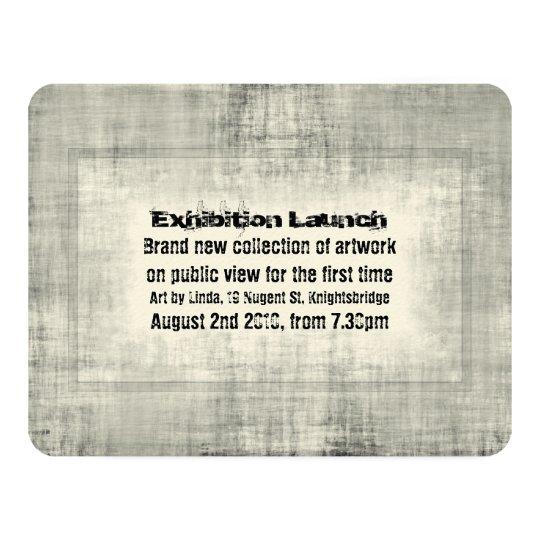 Event invitation exhibition art launch promotion zazzle event invitation exhibition art launch promotion stopboris Image collections