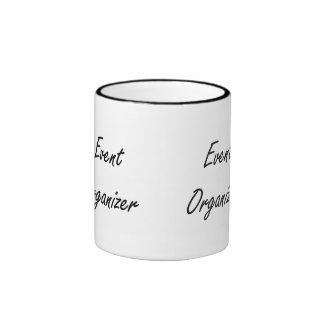 Event Organizer Artistic Job Design Ringer Coffee Mug
