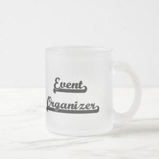 Event Organizer Classic Job Design 10 Oz Frosted Glass Coffee Mug