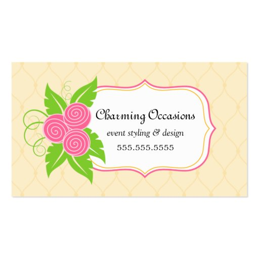 Event Planner Business Cards Business Cards