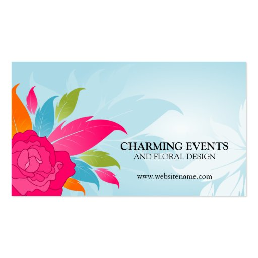 Gallery For Event Coordinator Business Cards