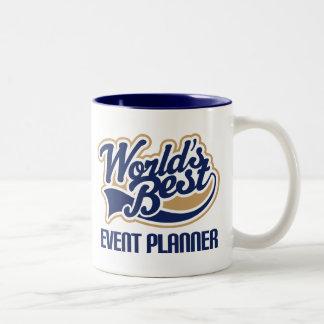 Event Planner Gift Two-Tone Coffee Mug