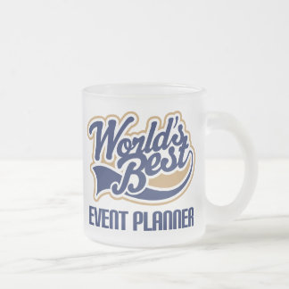 Event Planner Gift 10 Oz Frosted Glass Coffee Mug