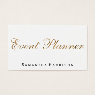 Event Planner II Business Card