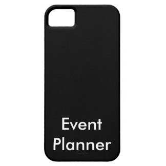 Event Planner iPhone SE/5/5s Case