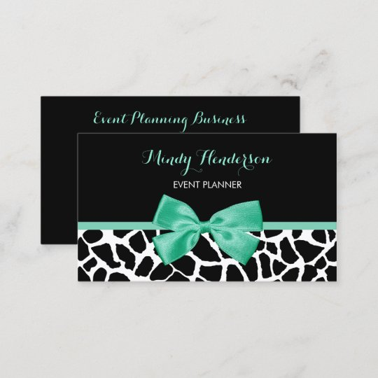 cake pink and green chocolate business card green business card