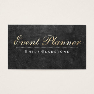 Event Planner | Slate Business Card