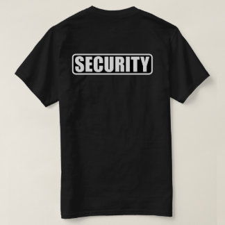 Event Security Crew - Front and Back T-Shirt
