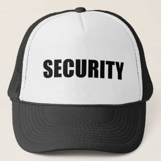 Event Security Crew Trucker Hat