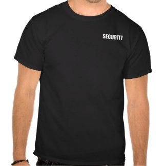 Event Security T Shirts