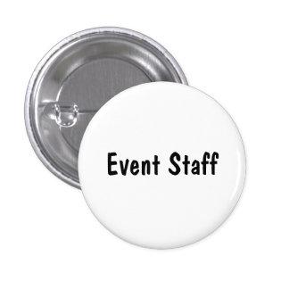 Event Staff 1 Inch Round Button