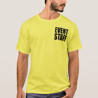 EVENT STAFF Official-Looking Shirt
