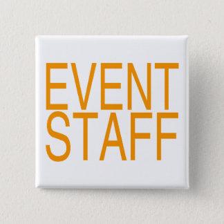 Event Staff Pinback Button