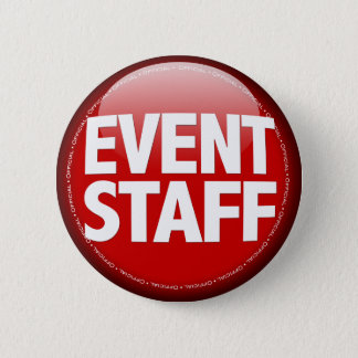 Event Staff Pinback Button