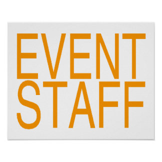 Event Staff Poster
