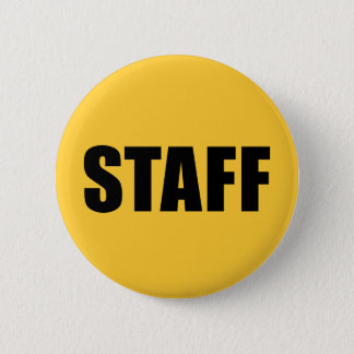 Event Staff Security Crew Gear Button