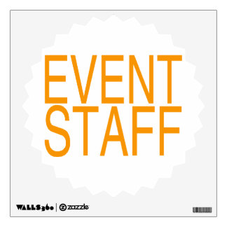 Event Staff Wall Graphics