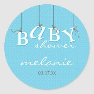 EVENT STICKER :: baby letters 8