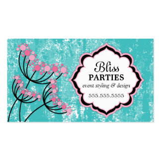 Event Styling and Design Business Cards
