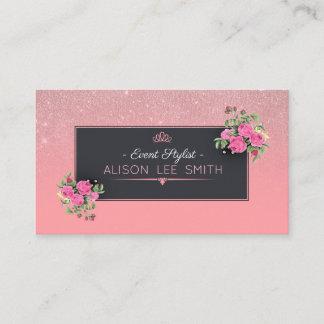 Event Stylist - Makeup Artist Business Card