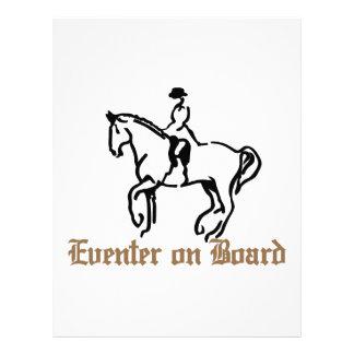 Eventer a bordo membretes personalizados