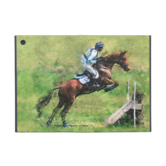 Eventer jumping a fence cases for iPad mini