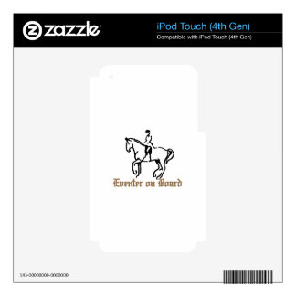 Eventer On Board iPod Touch 4G Decals