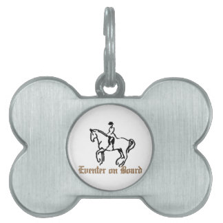 Eventer On Board Pet Name Tag