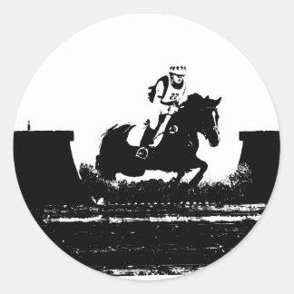 Eventing Classic Round Sticker