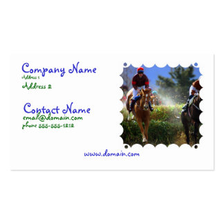 Eventing Horse Business Card