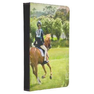 Eventing Horse Kindle Case